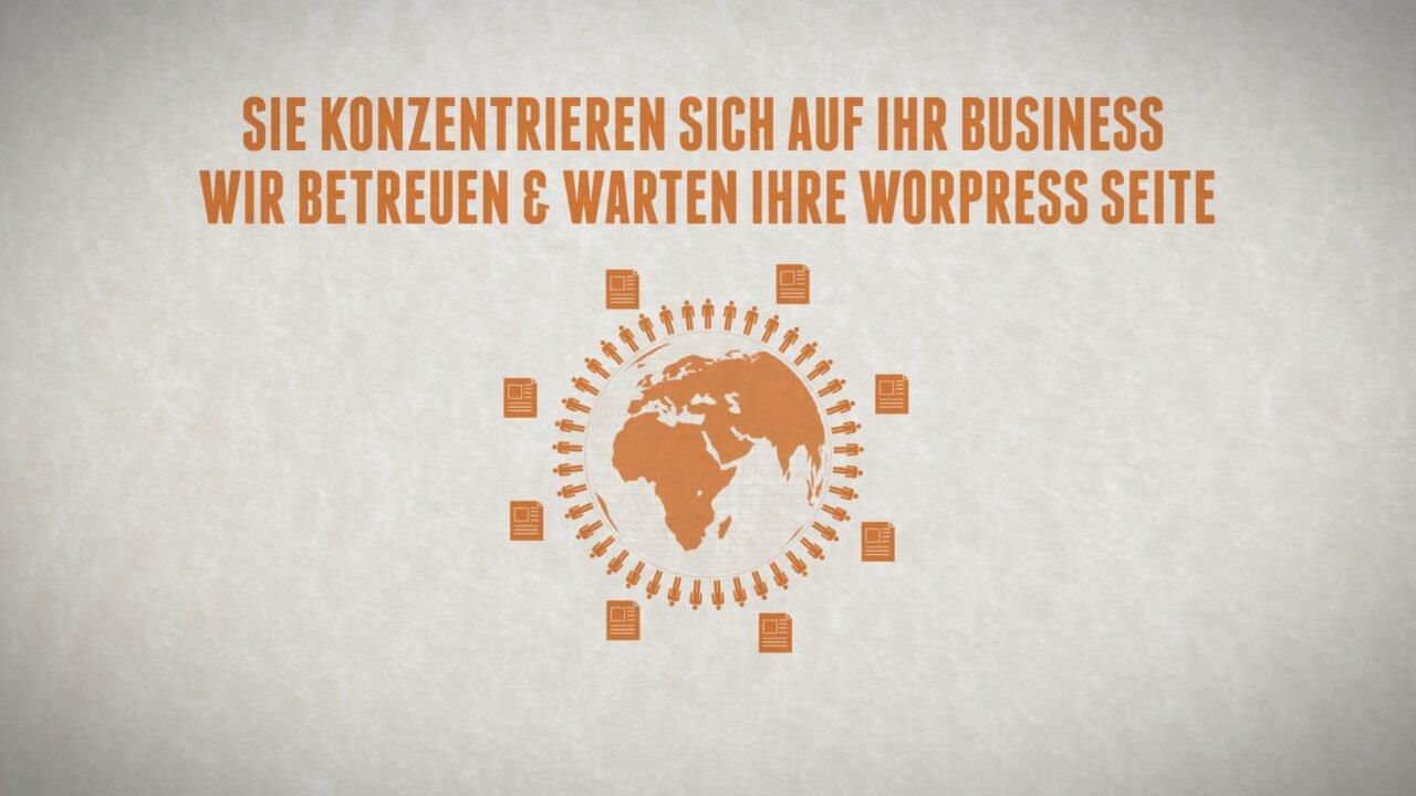 WordPress Wartungsvertrag Video